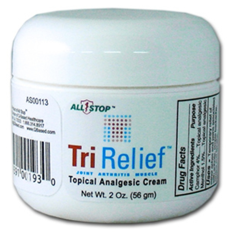 TriRelief 2 oz Pain Management Cream