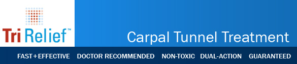 tri-relief carpal tunnel header