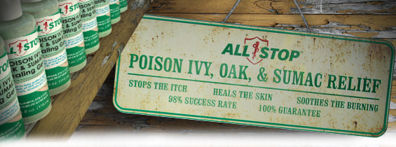 poison ivy oak sumac treatment header