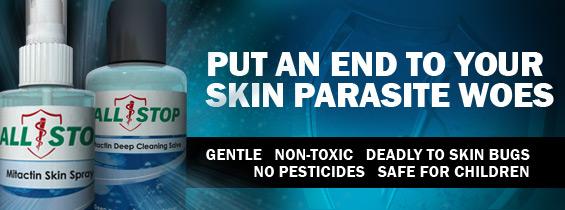 non toxic skin parasites